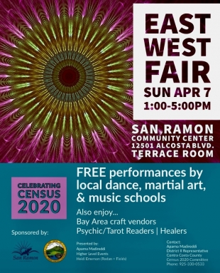 San Ramon: 'East West Fair' to celebrate community, 2020