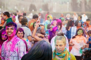 Holi Festival at Bishop Ranch celebrates end of winter with